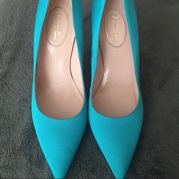 SJP by Sarah Jessica Parker Shoes - Beautiful SJP Turquoise Pumps